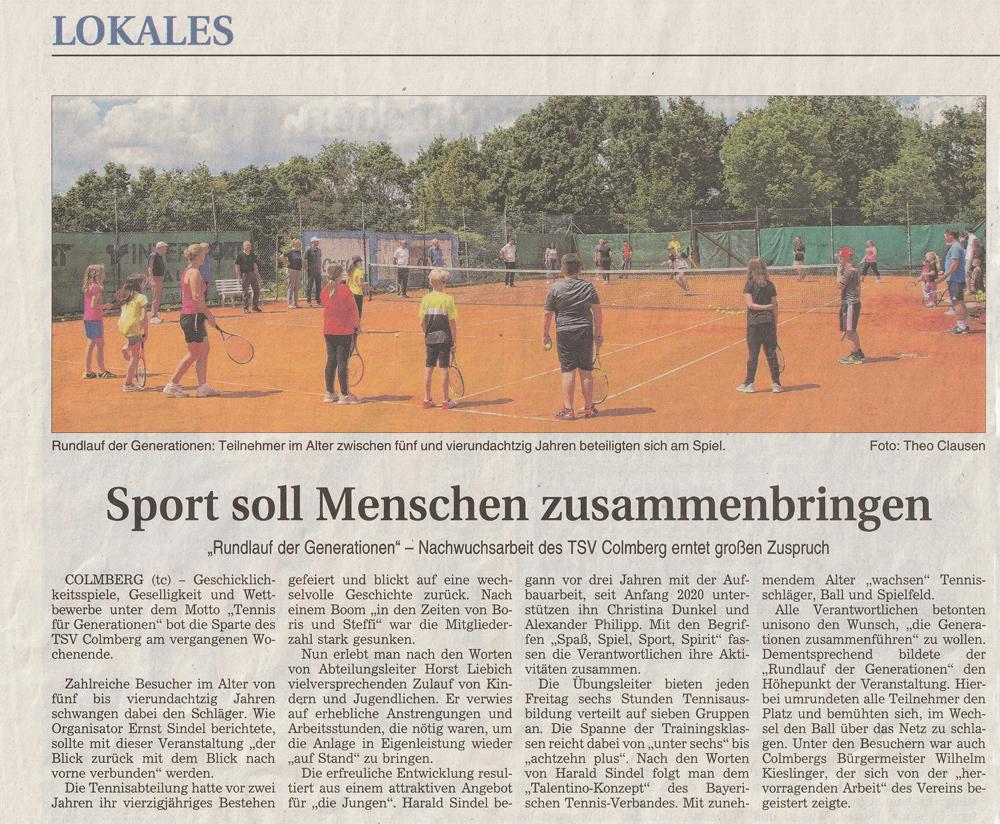 FLZ (Bericht von Theo Clausen, 14.07.2020)